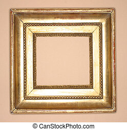 Golden Frame - golden antique frame