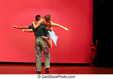 modernos, dança