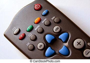 Remote control - Remote of a satellite television
