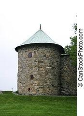 Turret, Akershus Festning - Turret detail at the Akershus...