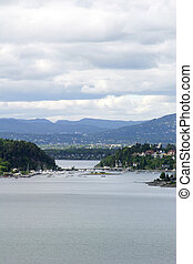 Oslo fjord - Oslo Fjord in early summer viewed form Ljan...