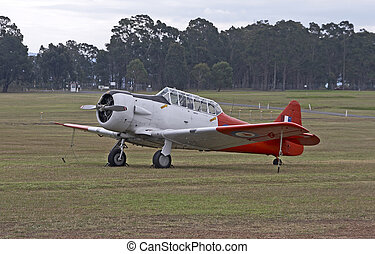 Nth American Harvard - North American Harvard in the field