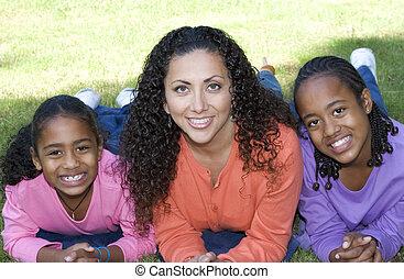 Family - Smiling family