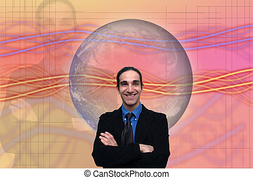 business concepts-9 - business abstract background