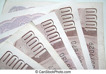 Korean Won - Korean 1000 Notes