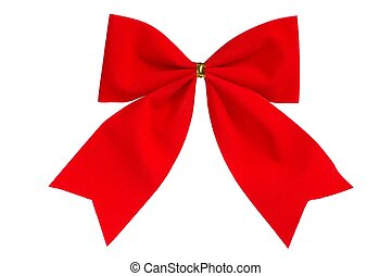 Christmas Decoration - Isolated Christmas bow