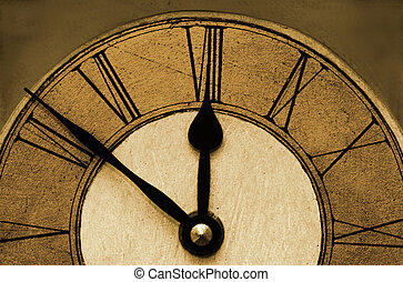 Time - Clock Face.