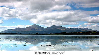 Mountain Range - Mourne Mountains, Ireland