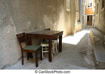 Still life - table&chairStill life - table&chair - A modest...