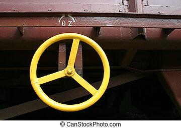 tren, detalle, 2