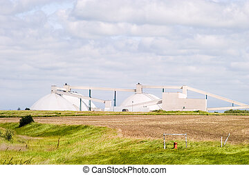 Potash Mine in Saskatchewan