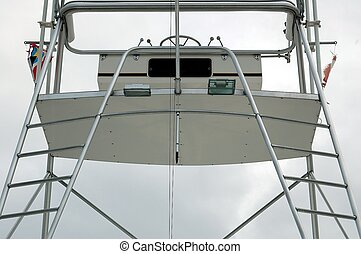 Flying Bridge - Photographed a flying bridge from a charter...
