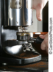 espresso, amoladora