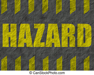 Background 003 - Sign warning of hazards