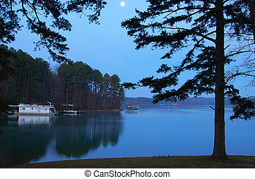 Copyright - Lake Lanier at Sunrise