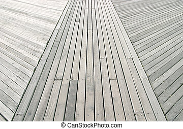 Boardwalk - a close up of a boardwalk