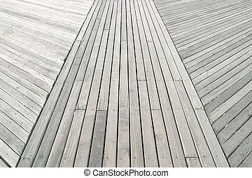 Boardwalk - a close up of a boardwalk
