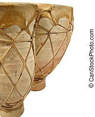 bongos - closeup of bongo drums