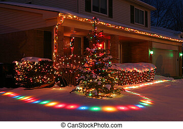 Christmas Lights Home