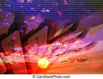 Keyboards - Digital sunsets
