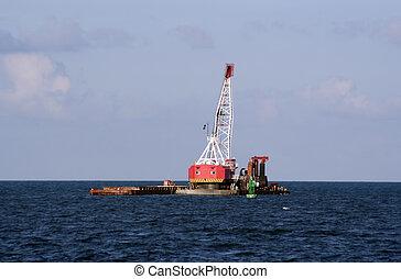 Dredge - A ocean dredge