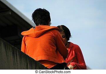 Teens Together - Teens talking together