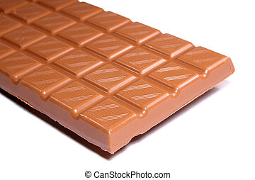 Chocolate Bar - Closeup of milk chocolate