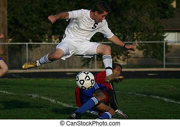 fotboll, Skott