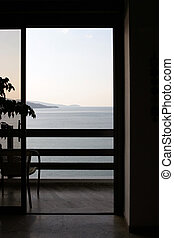 Great view interrior - Geometric view from interrior to...