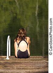 Swimmer - The swimmer