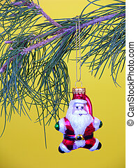 Santa Ornament - Santa christmas ornament