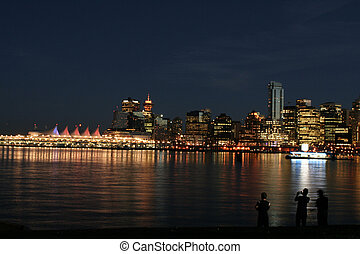 Vancouver - vancouver by night