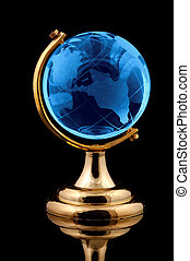Glass Globe - Photo of a Glass Globe