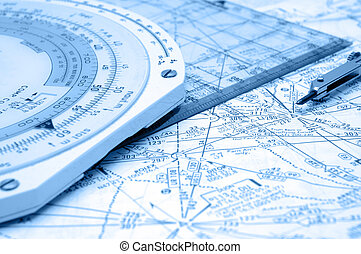 Airway Navigation - Flight Planning on Airways with some old...