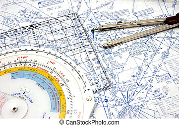 Airway Navigation 3 - Flight Planning on Airways with some...