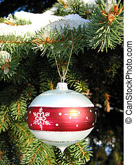 abeto, Ornamento,  1, árvore, Natal