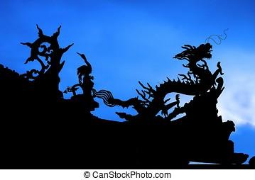 Kinesisk, drake