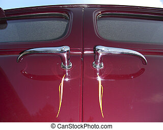 Old Door Handles - Suicide Door handles on antique 1937...