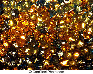 precious background - collection of shinny precious stones