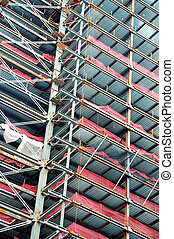 Building Construction - Photo of a Building Under...