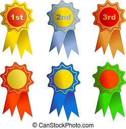rosettes - awards