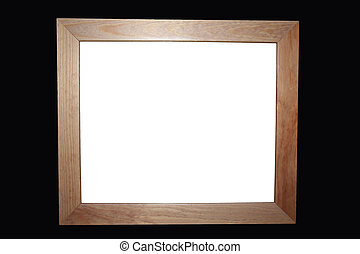 Wooden Frame - Simple Wooden Frame for anything you choose