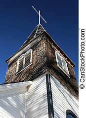 old small town church
