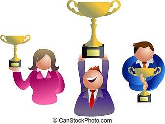 trophy winners - icon people