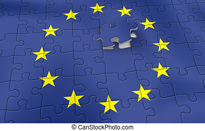 EU puzzle - European Union - Almost done
