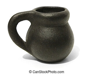 Ancient jug - Little ancient jug. It\'s height is only 2cm...