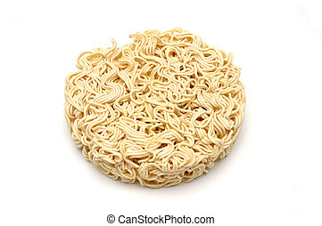 Instant Noodle - Isolated shot of instant noodle