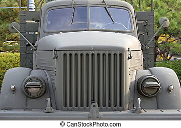 Russian-made truck used by North Korea during the Korean war