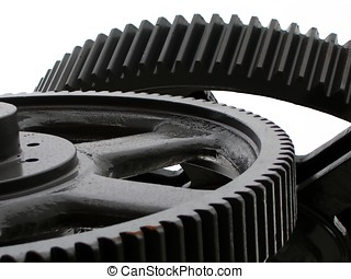 Industrial Concept - -- symbolized by large gears