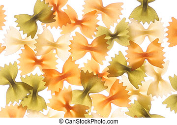 Pasta acirc;euro;ldquo; Farfalle - Farfalle in different...